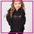 Aspire Dance Center Bling Pullover Hoodie with Rhinestone Logo