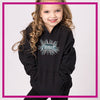 CYSC Elite Force Bling Pullover Hoodie with Rhinestone Logo