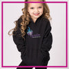 Ignite Bling Pullover Hoodie with Rhinestone Logo