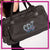 CDX Elite Bling Rolling Duffel Bag with Rhinestone Logo