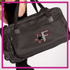 ROLLING-DUFFEL-fusion-allstars-GlitterStarz-Rhinestone-Bling-Bags-with-Team-Logo-Backpacks-and Travel Bags
