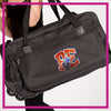 ROLLING-DUFFEL-pennsylvania-elite-GlitterStarz-Rhinestone-Bling-Bags-with-Team-Logo-Backpacks-and Travel Bags