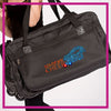 ROLLING-DUFFEL-south-bay-cheer-360-GlitterStarz-Rhinestone-Bling-Bags-with-Team-Logo-Backpacks-and Travel Bags