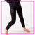 Bay State Allstars Bling Leggings with Rhinestone Logo