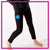 Courtney's Dance Artistry Bling Leggings with Rhinestone Logo