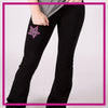 ROLLOVER-YOGA-PANTS-calvert-allstars-GlitterStarz-Custom-RHinestone-Yoga-Pants-with-Bling-team-logos