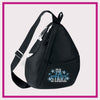 PA Starz Bling Sling Bag with Rhinestone Logo