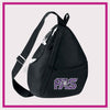 Prestige All Stars Bling Sling Bag with Rhinestone Logo