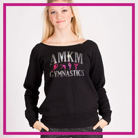 SLOUCH-SWEATSHIRT-AMKM-GlitterStarz-Custom-Sweatshirts-with-bling-team-logos-rhinestone