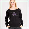 SLOUCH-SWEATSHIRT-all-star-xtreme-GlitterStarz-Custom-Sweatshirts-with-bling-team-logos-rhinestone