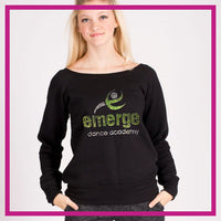 SLOUCH-SWEATSHIRT-emerge-dance-academy-GlitterStarz-Custom-Sweatshirts-with-bling-team-logos-rhinestone copy