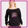 SLOUCH-SWEATSHIRT-sparkle-GlitterStarz-Custom-Sweatshirts-with-bling-team-logos-rhinestone