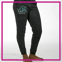 SPARKLE-JOGGERS-YDA-Dance-GlitterStarz-Custom-Rhinestone-Bling-Apparel-Pants-for-Cheerleading-and-Dance