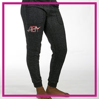 SPARKLE-JOGGERS-airborne-elite-GlitterStarz-Custom-Rhinestone-Bling-Apparel-Pants-for-Cheerleading-and-Dance