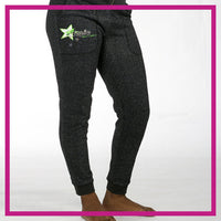 SPARKLE-JOGGERS-hot-topic-allstars-GlitterStarz-Custom-Rhinestone-Bling-Apparel-Pants-for-Cheerleading-and-Dance