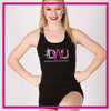 TANK-TOP-danceworks-unlimited-Custom-Rhinestone-Tank-Top-With-Bling-Team-Logo-in-Rhinestones