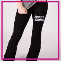 YOGA-PANTS-extreme-spirit-allstarz-GlitterStarz-Custom-RHinestone-Yoga-Pants-with-Bling-team-logos