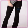 YOGA-PANTS-on-pointe-performing-arts-center-GlitterStarz-Custom-RHinestone-Yoga-Pants-with-Bling-team-logos