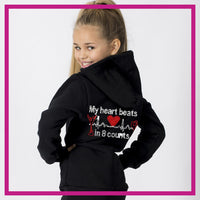 ZIP-UP-HOODIE-My-heart-beats-in-8-counts-GlitterStarz-Custom-Rhineston-Hoodie-with-Bling-Team-Logo-Cheerleading-Dance