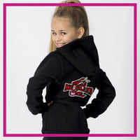 ZIP-UP-HOODIE-big-island-cheer-GlitterStarz-Custom-Rhineston-Hoodie-with-Bling-Team-Logo-Cheerleading-Dance