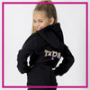 ZIP-UP-HOODIE-texas-power-athletics-GlitterStarz-Custom-Rhineston-Hoodie-with-Bling-Team-Logo-Cheerleading-Dance