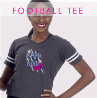 GlitterStarz Bling Basics Football Tee