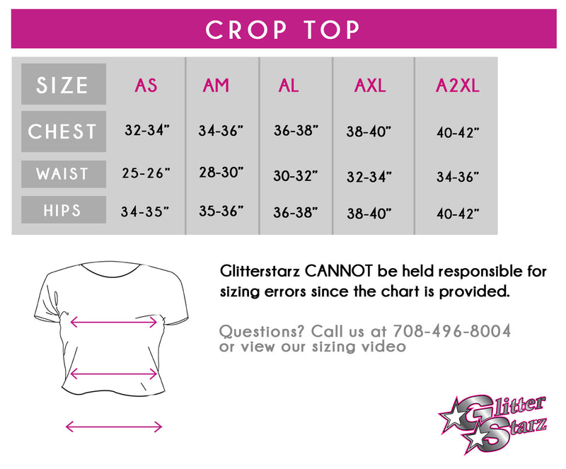 eda3e7ea08abe Cheer Legend Champions Bling Flowy Crop Top with Rhinestone Logo ...