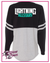 Lightning Allstars Vinyl Pom Pom Jersey Top with Front and Back Logo
