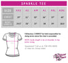 Cheer Obsession Sparkle Tee with Rhinestone Logo