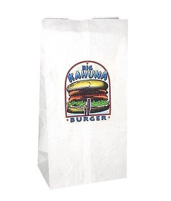 Big Kahuna Burger Paper Bag Tarantino Pulp Fiction Replica Props - Replica Prop Store