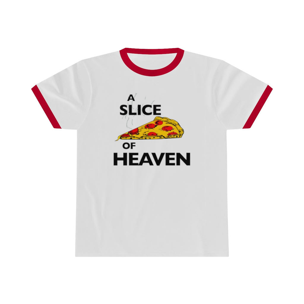 A Slice Of Heaven Ringer Tee Mystic Pizza