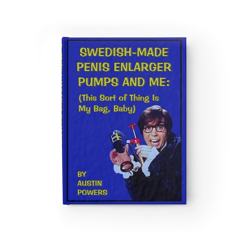 Swedish-Made Penis Enlarger Journal Austin Powers
