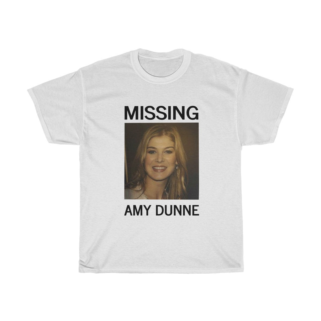 Amy Dunne Missing Unisex T-Shirt Gone Girl