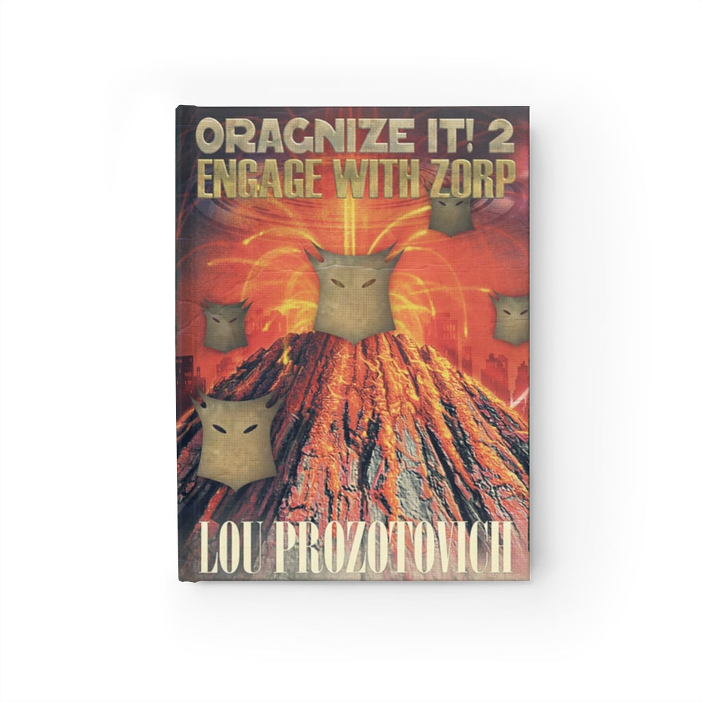Organize It 2 Engage with Zorp Journal