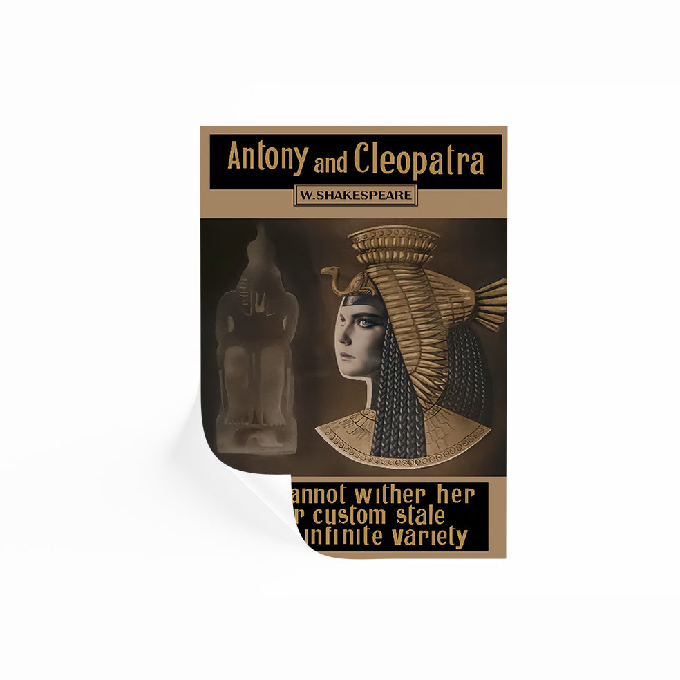 Antony And Cleopatra Poster Once Upon A Time In America