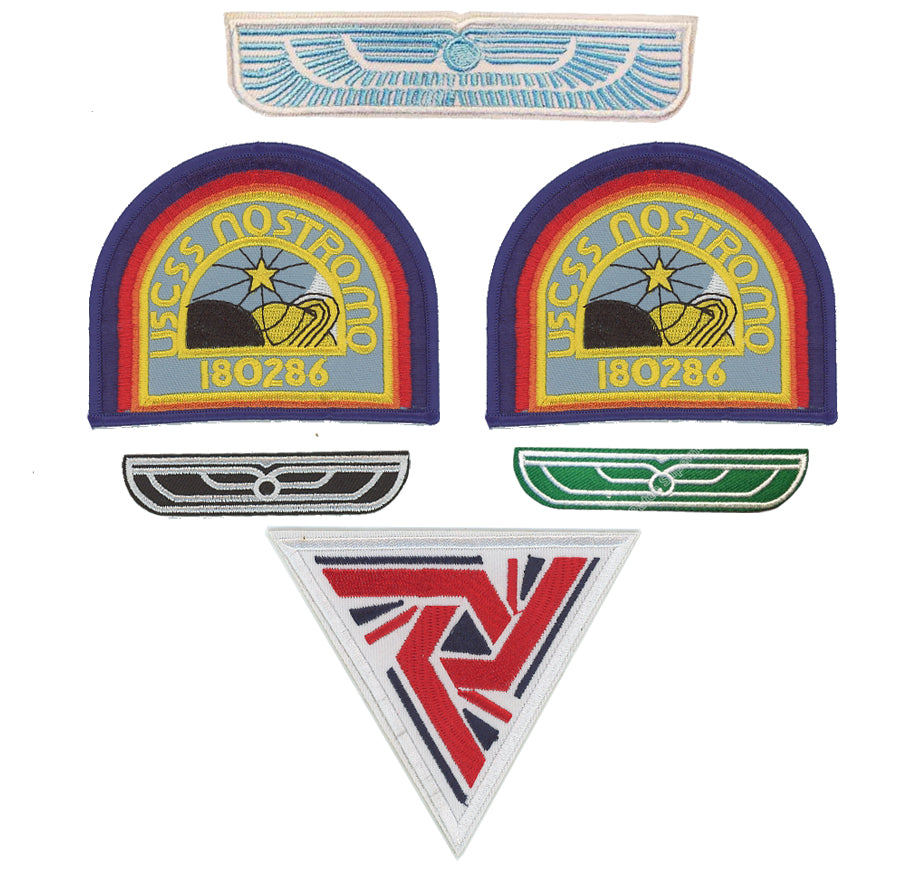 Alien Uniform Patch Set Aliens