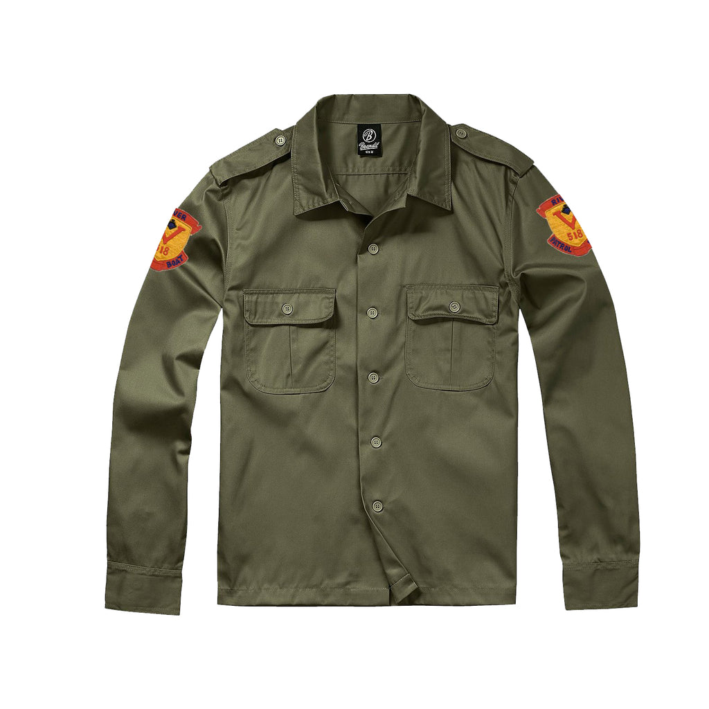 Apocalypse Now River Patrol Army Shirt