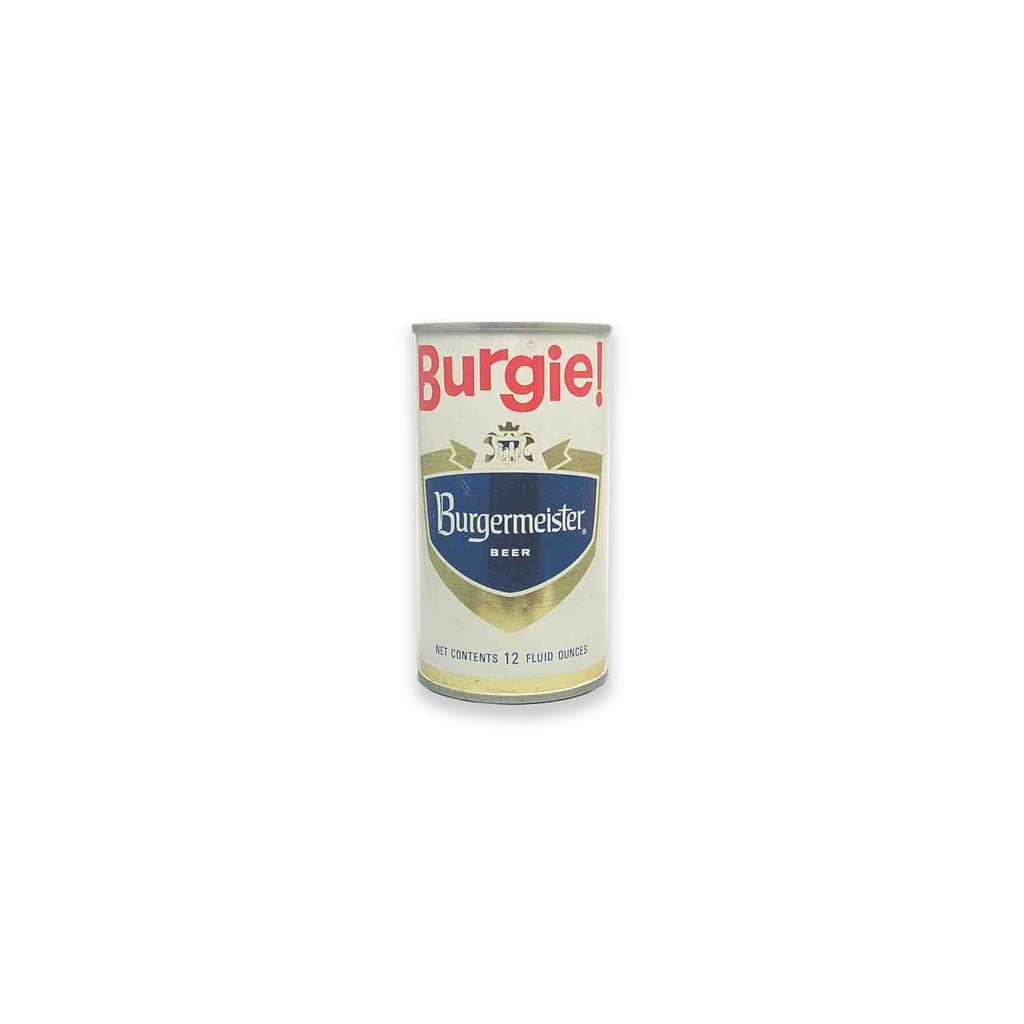 Burgie Beer Can Inherent Vice