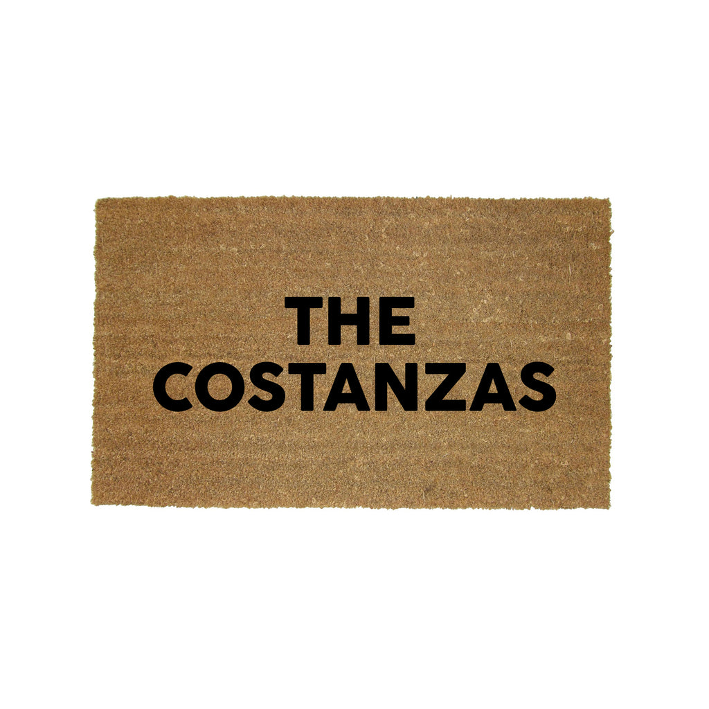 The Costanzas Doormat George Costanza Seinfeld