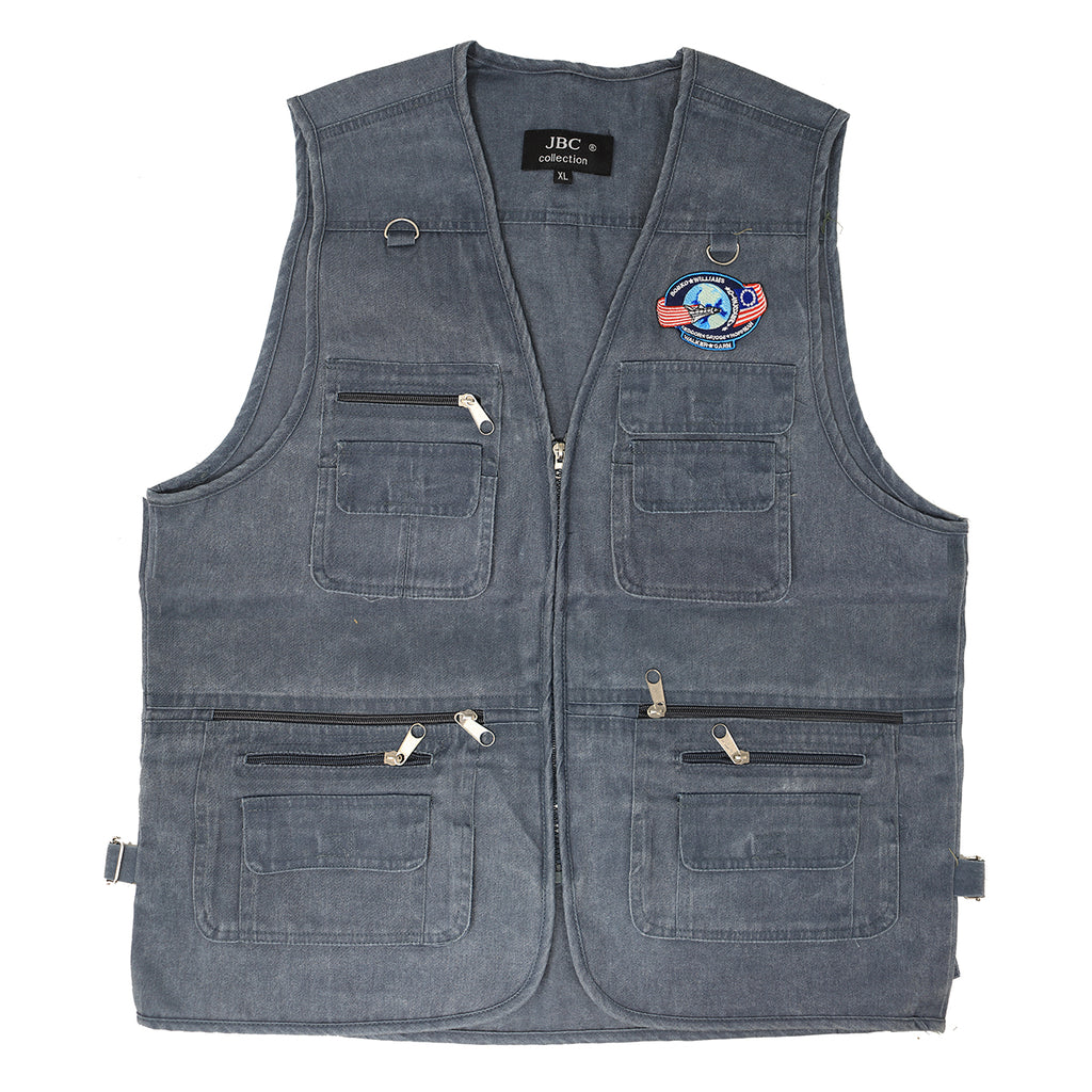 Dustin Henderson Denim Vest Stranger Things 3