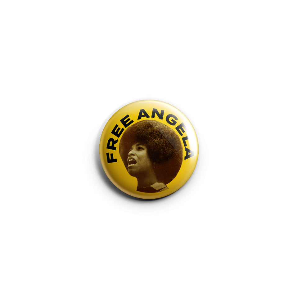 Free Angela Davis Badge BlacKkKlansman