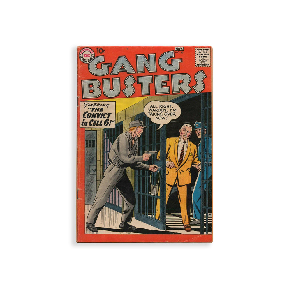 Gang Busters Comic Book Stand By Me
