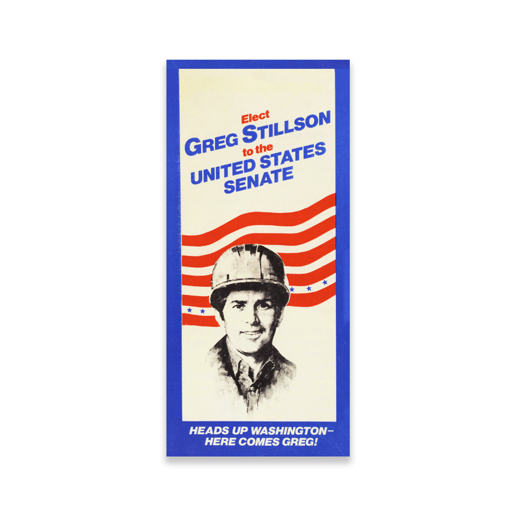 Greg Stillson For The United States Senate Poster The Dead Zone