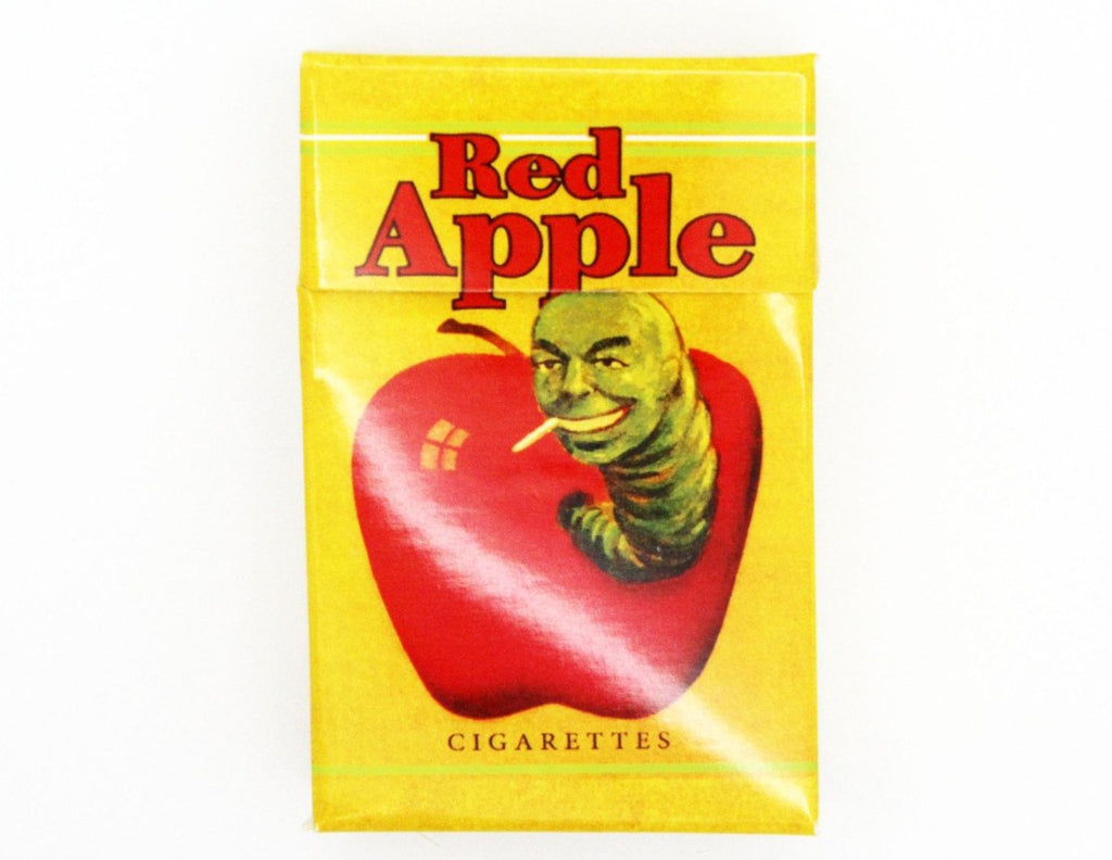 Red Apple Cigarette Box Tarantino Pulp Fiction Kill Bill Jackie Brown - Replica Prop Store  - 3