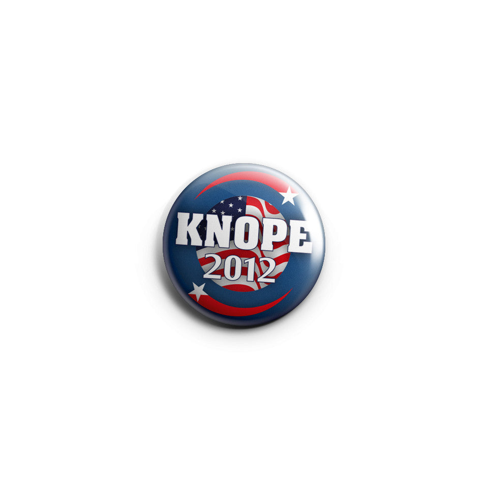 Knope 2012 Pin Button Badge Parks And Recreation