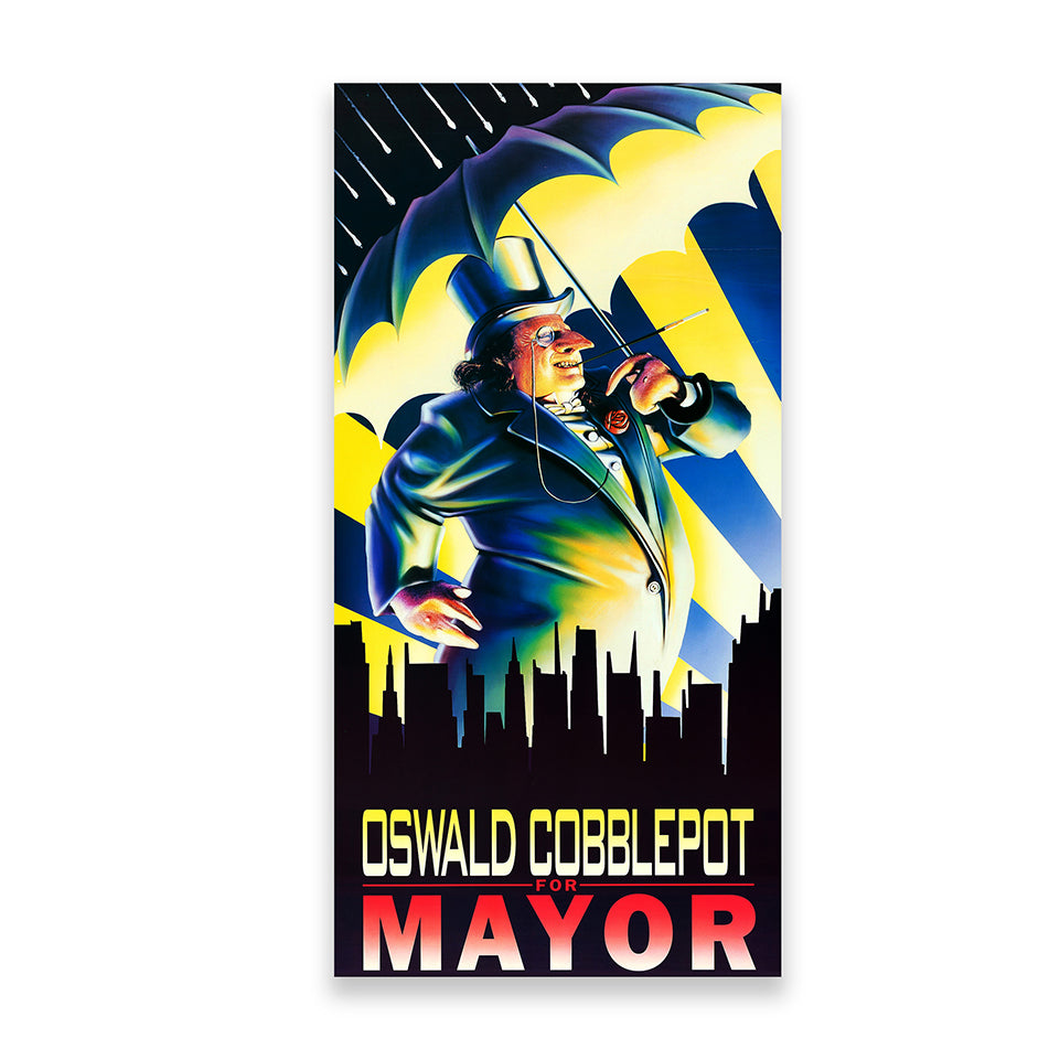 Oswald Cobblepot For Mayor Poster