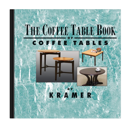 The Coffee Table Book Of Coffee Tables Layflat Book Replicapropstore