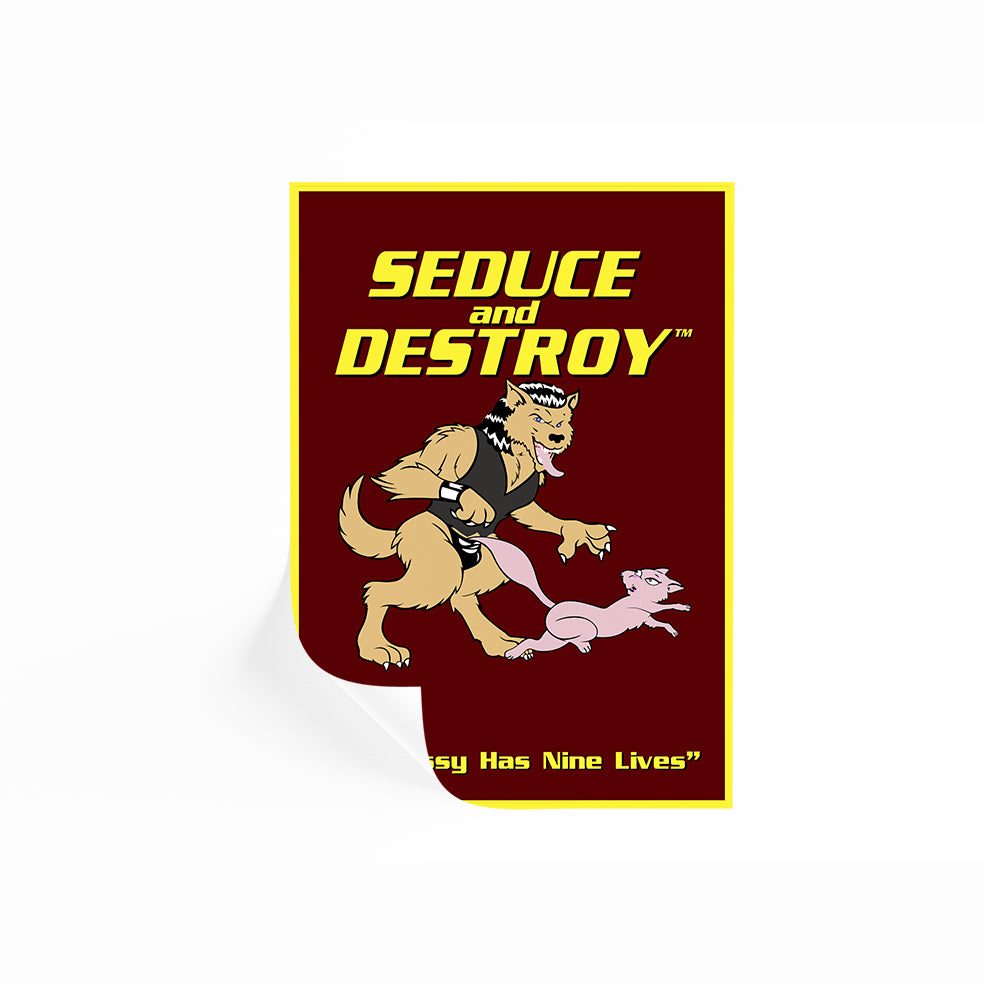 Seduce And Destroy Poster Magnolia