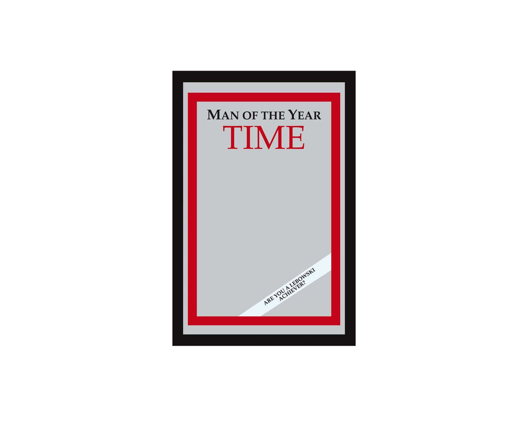 Time Magazine Man Of The Year Mirror The Big Lebowski - Replica Prop Store  - 1