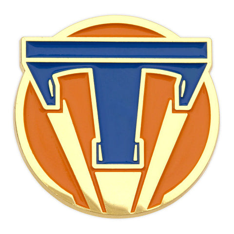 Tomorrowland Bagde Lapel Pin George Clooney - Replica Prop Store  - 1